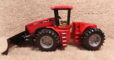Vintage 2004 1/32 Scale Plastic Case IH STX 450 Farm Toy Tractor With Plow