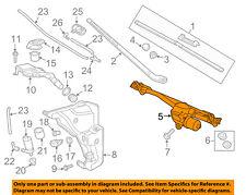 AUDI OEM 12-17 A6 Quattro Wiper Washer-Windshield-Motor & Linkage 4G1955023C