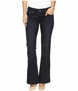 Rock & Roll Cowgirl Women's and Low Rise Trouser Jeans - W8-9630, Size 26 x 34