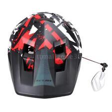 Bike Helmet Mirror 360° Rotary Cycling Bicycle Rear View Mirror HOT NEW X2J2