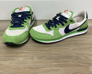 Nike Internationalist White/Midnight Navy/Green Shoes 316374-143 Size 9.0  2008