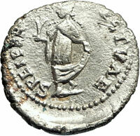 ELAGABALUS 219AD Antioch Silver Authentic Ancient Roman Coin SPES HOPE i76921