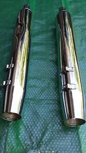 2009-Later Harley-Davidson Stock Touring Slip-On Mufflers 65846-10A & 65538-09