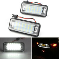 2x LED License Number Plate Light white For TOYOTA FT86 GT86 Subaru Forester cl