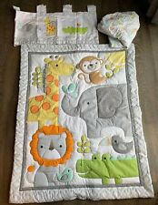 Circo Baby Crib Comforter Set Jungle Animals Theme