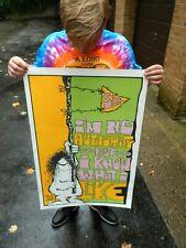 Vintage NOS Original 1970s Psychedelic Rock Man Poster Vagabond sex Pin-up #4