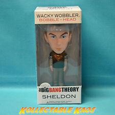 The Big Bang Theory - Sheldon Superman Shirt Exclusive Wacky Wobbler Bobble Head