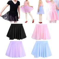 Children Girls Ballet Wrap Dancewear Kids Baby Skating Tutu Skirt Dance Dresses