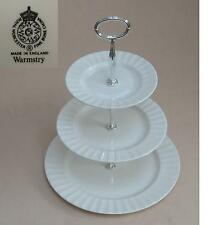 "Royal Worcester ""Warmstry"" THREE TIER CAKE STAND"