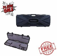 TACTICAL GUN CASE Assult Rifle Storage AR Hunting Equip Carry Hard Protector Box