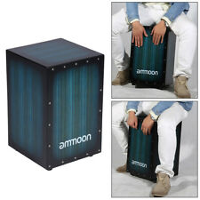 Cajon Drum Hand Percussion Drums Box Wooden Adjustable Snare Bass Set G0B8