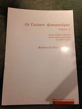 Thierry Meunier La guitare romantique volume 3 partition transatlantiques