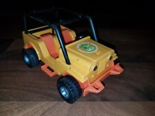 Vtg Fisher Price Adventure People #312 Northwoods Trailblazer Jeep Vehicle! 1977
