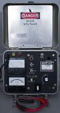 Biddle/Multi-Amp/Megger/Multi-Volt MG-25/25A Megohmmeter 2.5 kV DC, 50k megohms