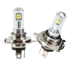 2X H4 9003 HB2 80W CREE LED Fog DRL Driving Car Head Light Lamp Bulb White 6000K