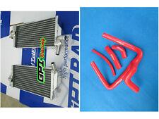 FOR Honda CR250 CR250R 05 06 07 2005 2006 2007 Aluminum radiator and hose