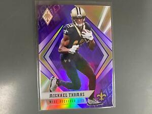 Michael Thomas 2020 Phoenix Purple Parallel New Orleans Saints 144/149 S19