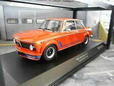 BMW 2002 02er Turbo E10 E20 orange 1973 RAR Minichamps 1:18