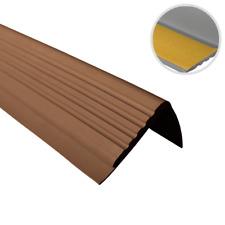 Nez de marche PVC profil d'angle adhésif 48x42mm antidérapant 1,5M QUEST®