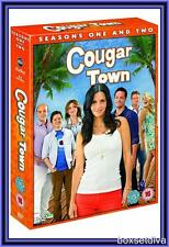 COUGAR TOWN - COMPLETE SEASONS 1 & 2 **BRAND NEW  DVD***