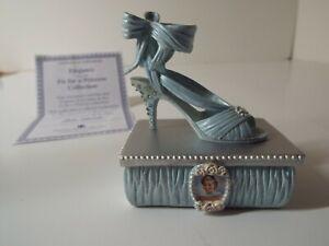 101 Princess Diana shoe figurine Elegance Fit for a Princess Collection COA