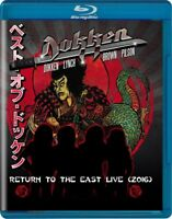 DOKKEN - RETURN TO THE EAST LIVE 2016  2 BLU-RAY NEW