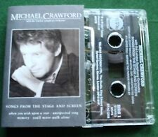 Michael Crawford Songs from Stage & Screen LSO Cassette Tape - TESTED
