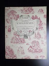 RARELivre illustré Les fêtes enfantines 1953 Sourgen Léopold Theureau Bourrelier