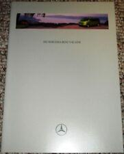 Mercedes-Benz Brochure V-Class 1997 - Very RARE German!