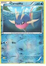 Carvanha 32/135 B&W Plasma Storm REVERSE HOLO MINT! Pokemon