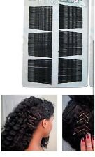 80 Pc Jumbo Size Black - Hair Pins Ball Tipped Bobby Pin Hair Clips ~3.5 Inches
