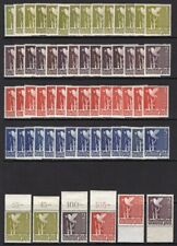 "Germany Allied Occupation Zone 1947, ""Dove of Peace"" 14 cmpt set & 30 single Mnh"
