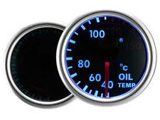 Motor Meter SMOKE LED Blau Zusatzanzeige Zusatzinstrument Öltemperatur Geber