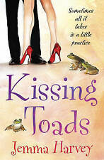 Kissing Toads by Jemma Harvey (Paperback) New Book
