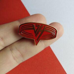 Van Halen Band Logo Enamel Pin Lapel Badge Heavy Rock Metal Brooch