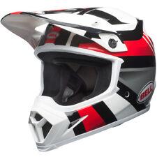 NEW BELL MX9 MIPS MOTOCROSS ENDURO HELMET MARAUDER WHITE BLACK RED SMALL