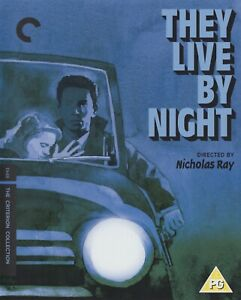 THEY LIVE BY NIGHT (1948) dir: Nicholas Ray / Blu-ray / Criterion / Mint, as new