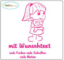 Babyaufkleber Kinder Auto Aufkleber Namenaufkleber Prinzessin Mädchen 1/79