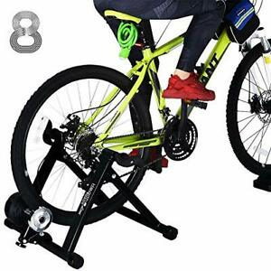 """Bike Trainer Stand for 26""""-28"""" Mountain & 700C Road Bikes Indoor Stationary B..."""