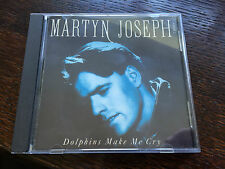 Martyn Joseph - 'Dolphins Make Me Cry' UK CD Single