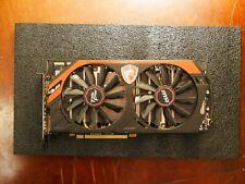 GPU MSI Twin Frozr IV AMD Radeon R9 280x Gaming OC 3Go GDDR5 Tahiti XT