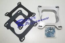 Holley To Q-Jet Quadrajet Or Spreadbore Aluminum Adapter Chevy Ford SBCBBC Mopar