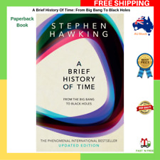 A Brief History Of Time By Stephen Hawking Paperback Book NEW FREE SHIPPING AU