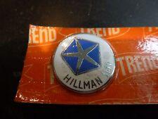 HILLMAN IMP Original 1960's Quality Gear Knob Lever Badge Key Fob Enamel NOS