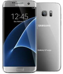 Samsung Galaxy S7 Edge SM-G935 32GB - Silver (GSM Unlocked) Smartphone
