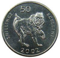 (R30) - Somalia - 50 Shillings 2002 - Mandrill Primat - UNC - KM# 111