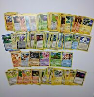 Vintage Pokemon Bulk Cards Lot of 159 from different Sets [Read The Description]