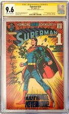 SUPERMAN 233 CGC 9.6 1971 SS Sketch NEAL HIGHEST GRADED! ONLY 1 SS