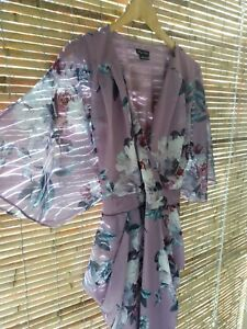 City chic dress size L Rosewater Floral Draping Belted Plus Size