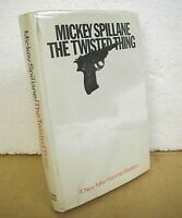 The Twisted Thing by Mickey Spillane 1966 HB/DJ *Signed*